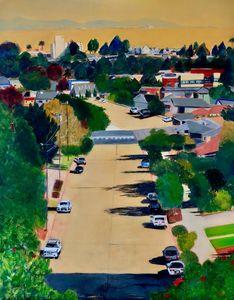 Van Ness Ave. Santa Cruz - Susan Brown Fine Art