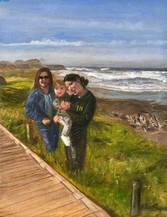 Day in Cambria, CA - Susan Brown Fine Art