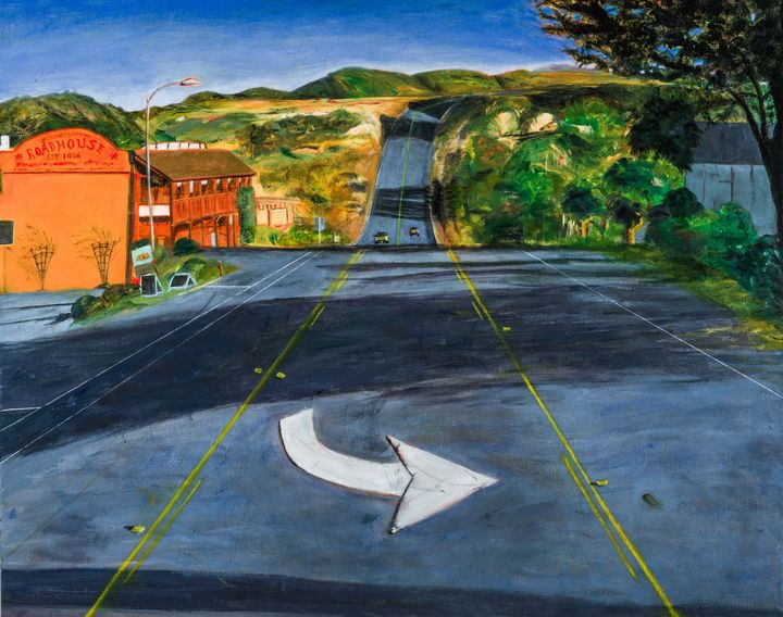 Davenport,CA Evening1 - Susan Brown Fine Art