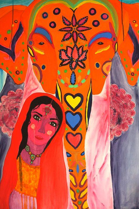 Indian celebration - Marley Art