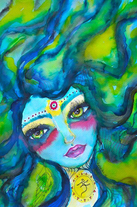 OM Blue mermaid - Marley Art