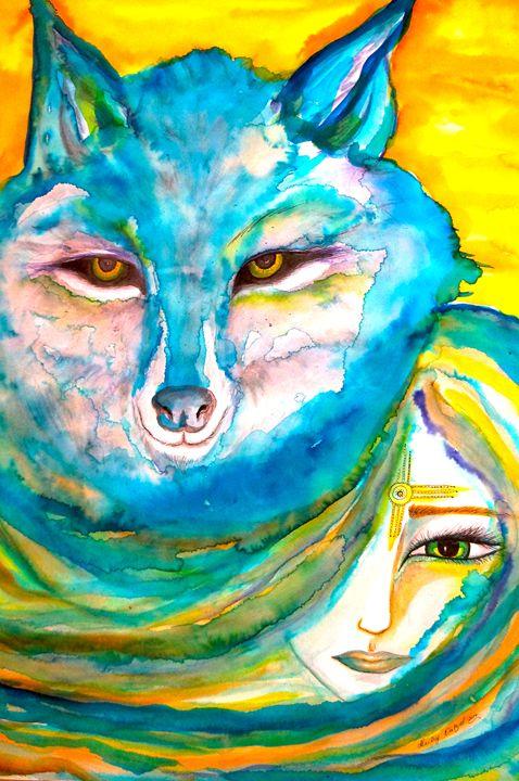 She Wolf - Marley Art