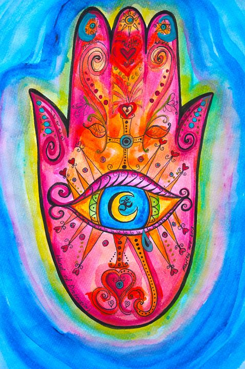 Hand of Protection - Marley Art