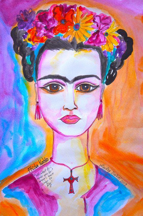 Frida - Marley Art