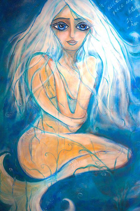 Blue Mermaid - Marley Art