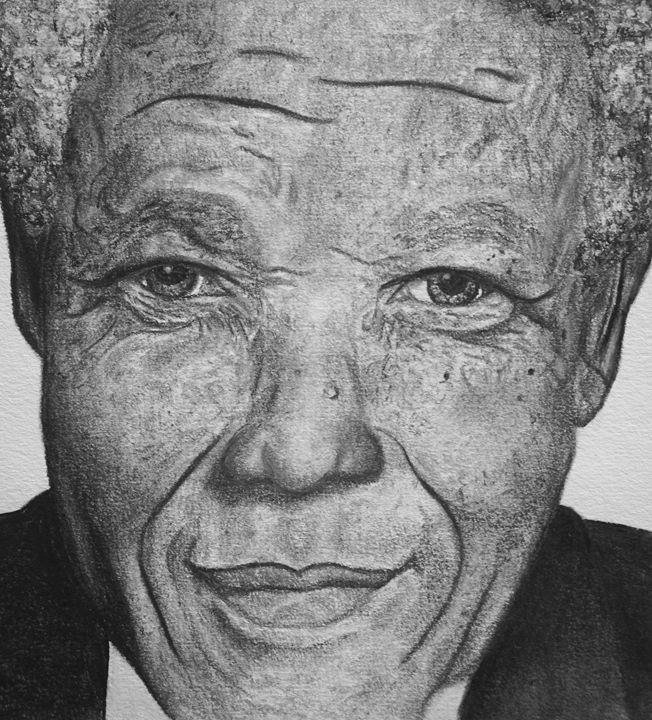 NELSON MANDELA - Marley Art