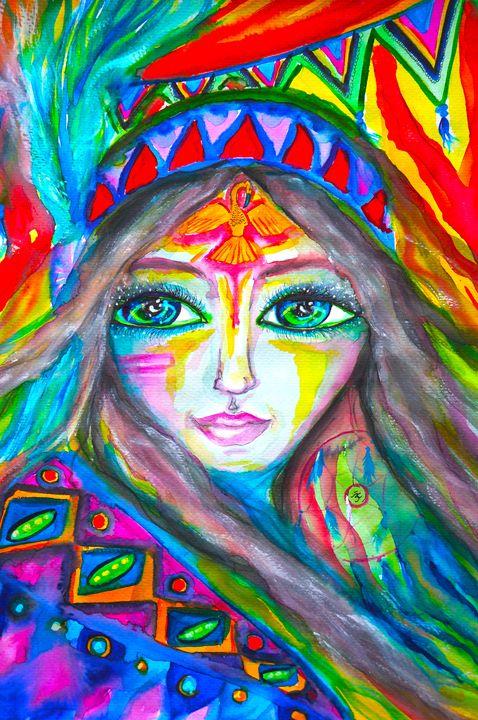 Aztec Beauty - Marley Art