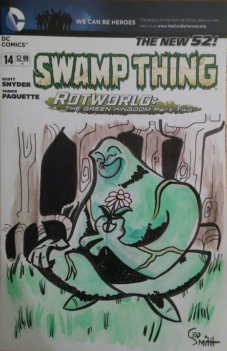 Swamp Thing - illustratED Designs