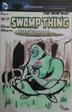 Swamp Thing Comic cover art