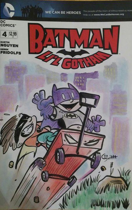 Batman Lil Gotham - illustratED Designs