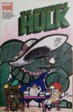 The Hulk Tea Party Comic cover art