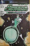 Green Lantern cover art