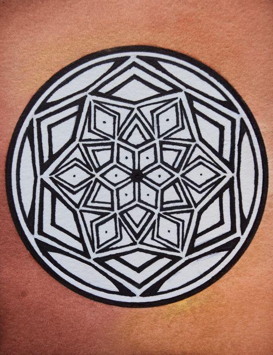 Simple Mandala - Amy Young