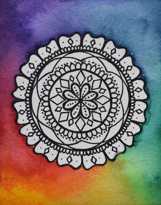Rainbow Mandala - Amy Young