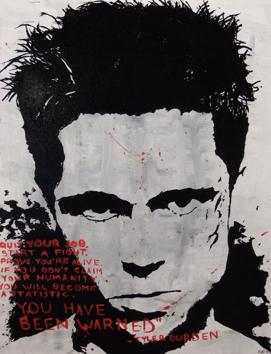 Tyler Durden - Pandemonium Gallery