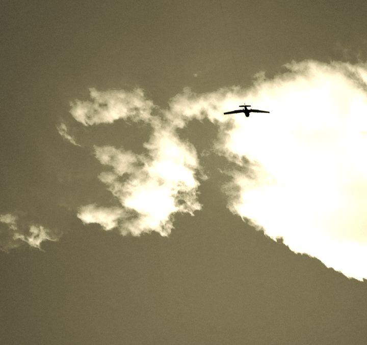 Plane - Braden Benson Art