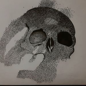 skull and poems