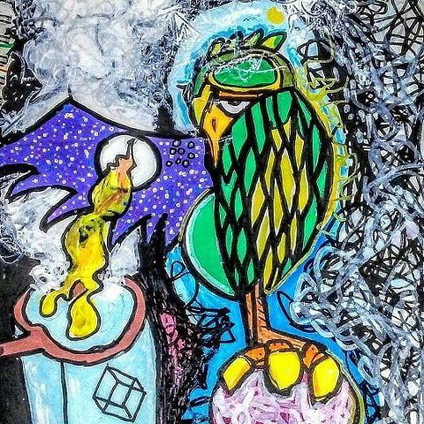 burds fly high - iron featherhand