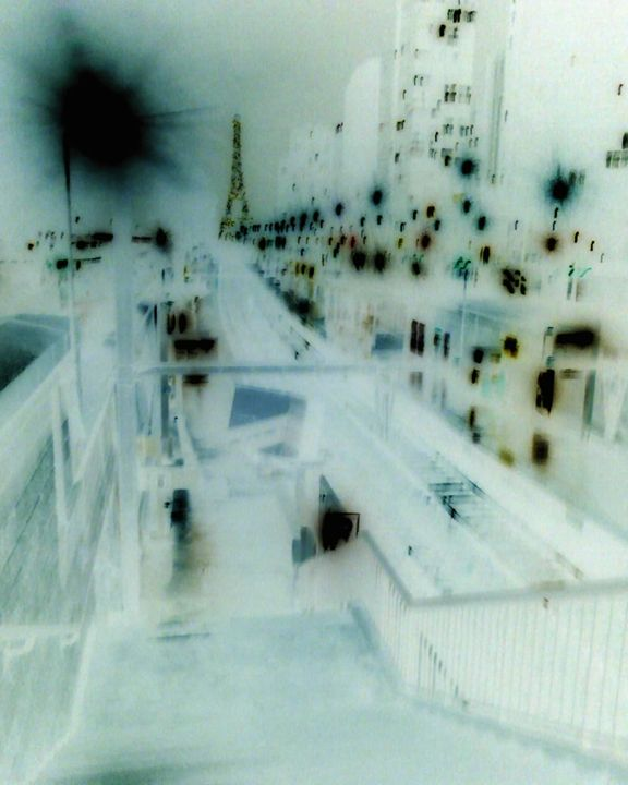 Paris Abstract 2 - Paris s'eveille