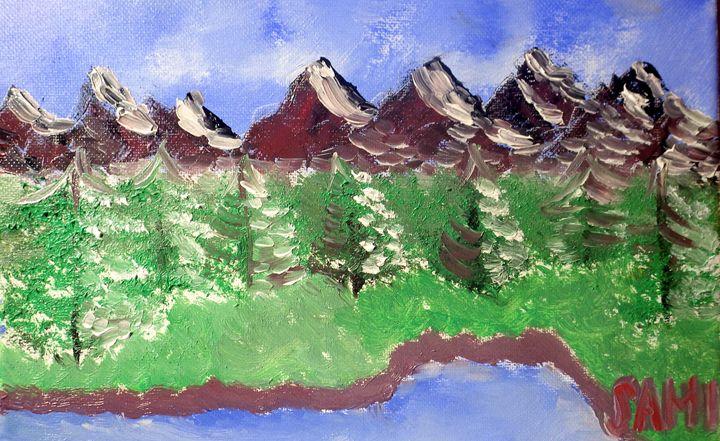 MOUNTAINS - SAMI ART