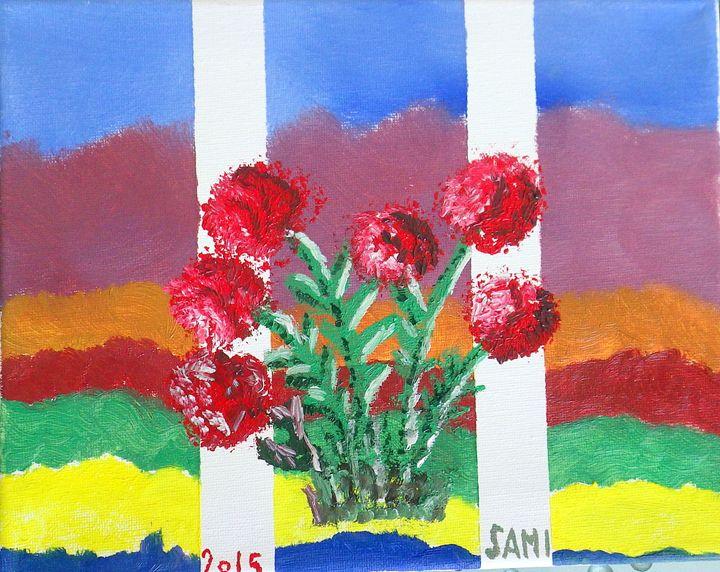 FLOWERS - SAMI ART
