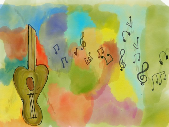 Music and colors - Karthik's Gallery