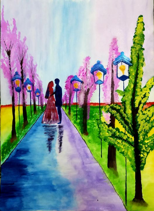 Spring Love Painting - Nikita