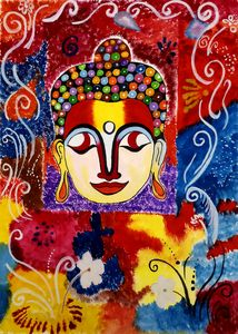 Artistic buddha.