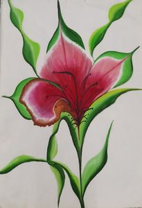 Serene hibiscus flower.