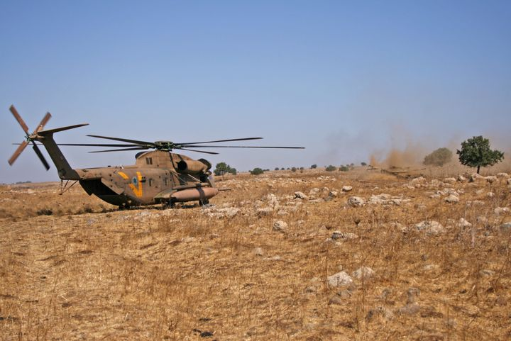 Military Rescue Helicopter in Rescue - photo land