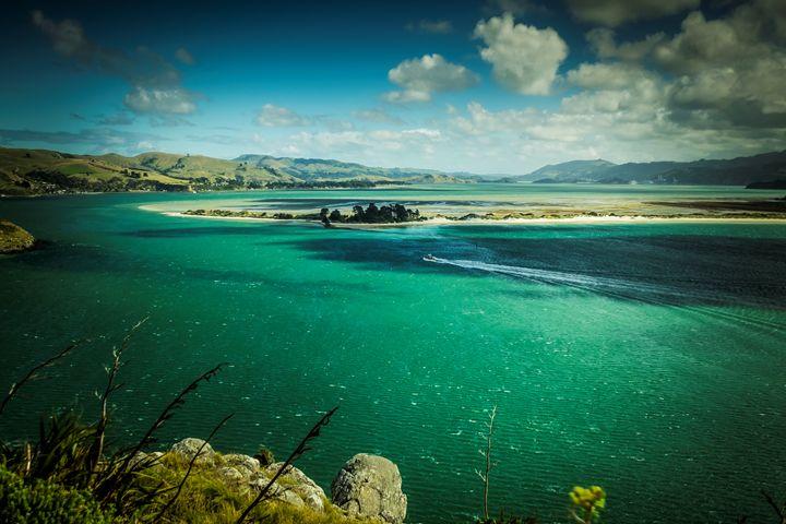 streams and lakes of New Zealand - photo land