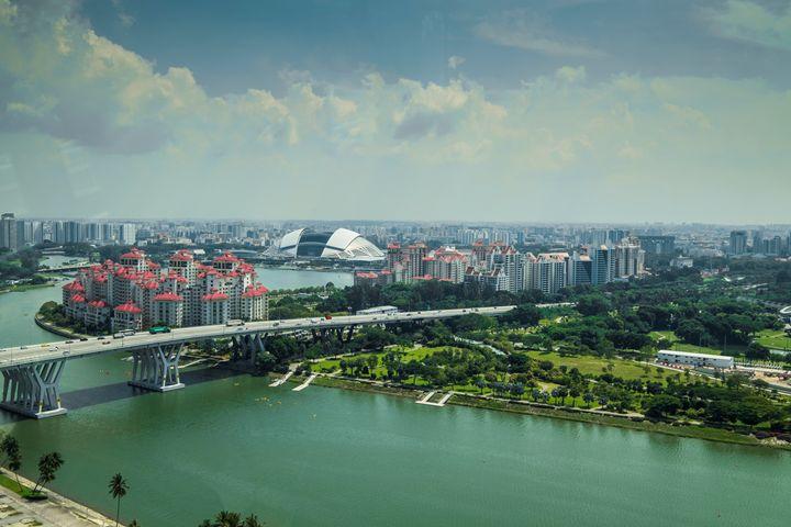 Urban views in Singapore - photo land