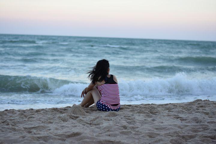 Alone on the Beach - cupidworld