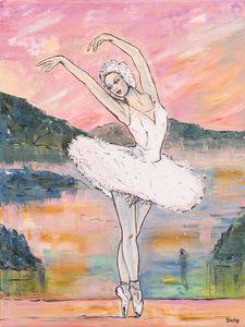 Swan Lake. Odette