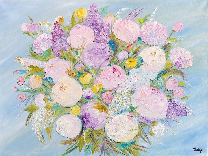 Peonies and Lilacs - Natalia Shchipakina