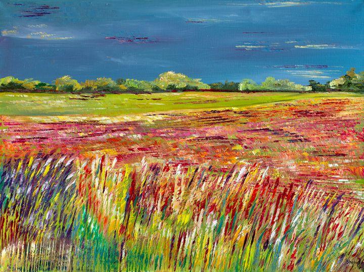 The Field Before The Thunderstorm - Natalia Shchipakina