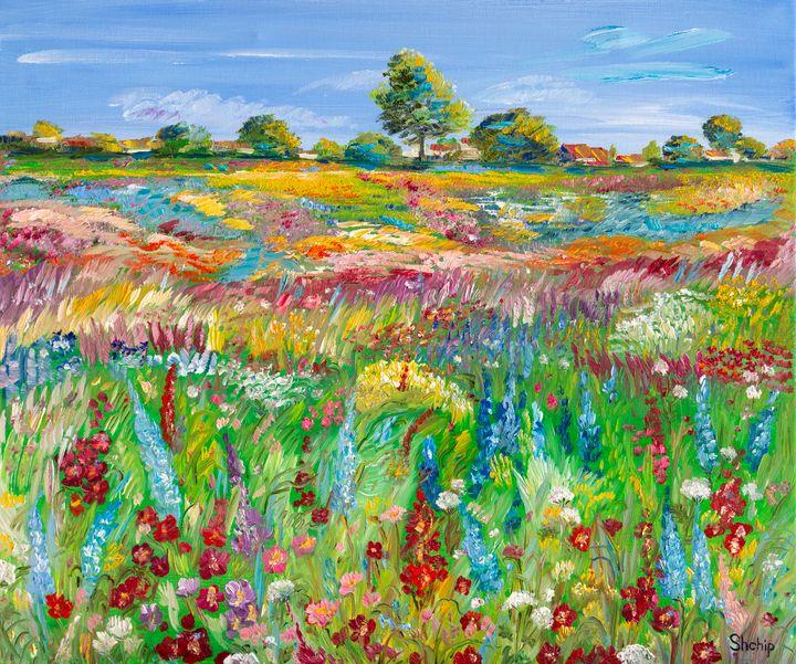 Forest Flowers - Natalia Shchipakina