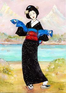 Geisha. Woman of Culture