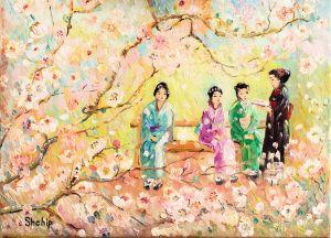 Japanese Women Recite Poetry