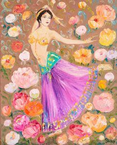 Dancer in Flowers