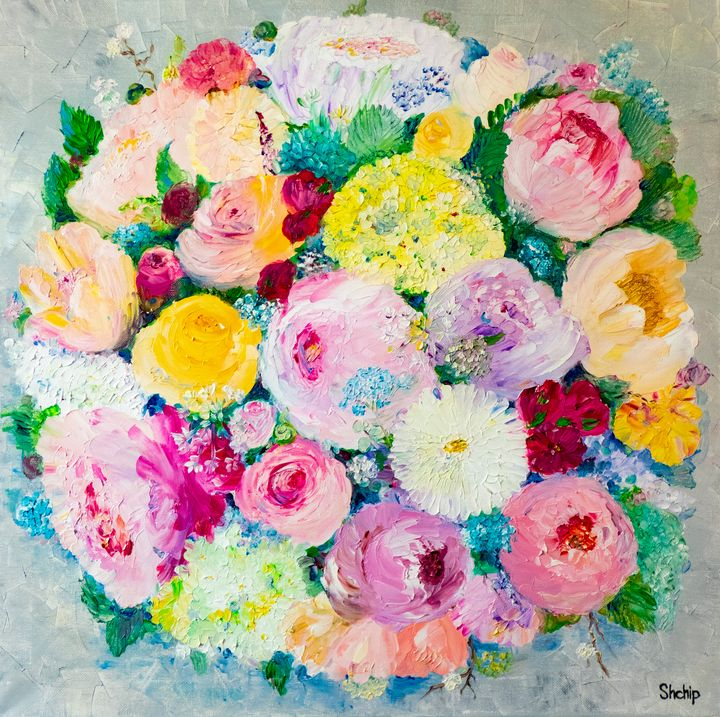 Bouquet - view from above - Natalia Shchipakina