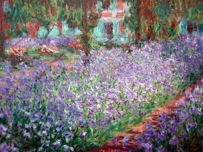 Monet's Garden - Iris - Nice Gallery
