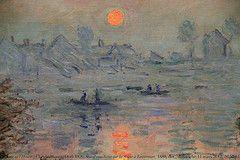 Monet - Le Jour ni l'Heure 1874 - Nice Gallery