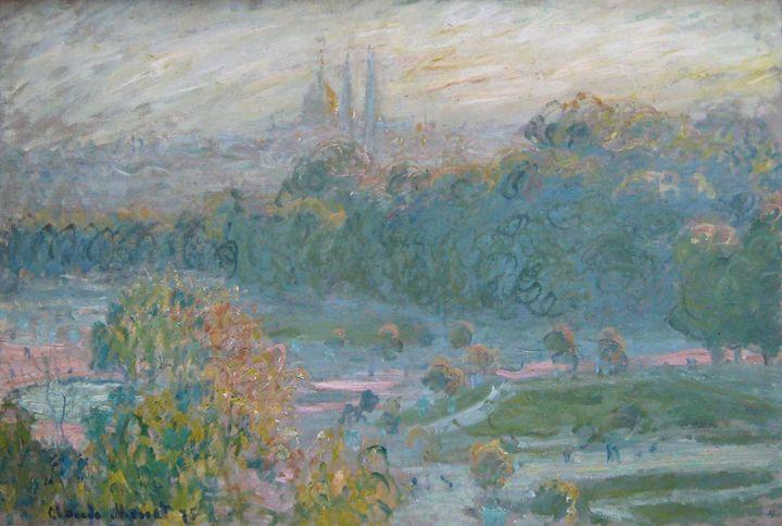 Monet, Les Tuileries, 1875 - Nice Gallery
