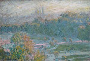 Monet, Les Tuileries, 1875