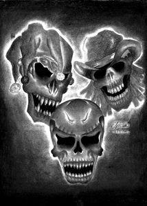 Nice skulls