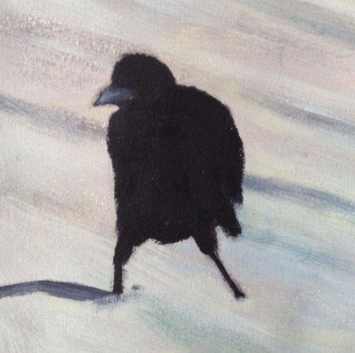 old crow - Elaine Nardini-Harris
