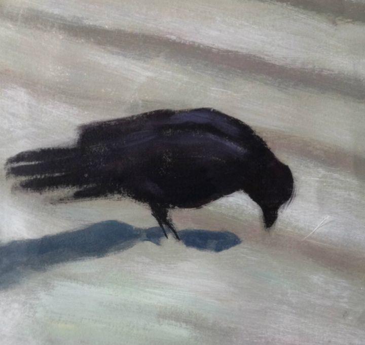 pecking bird - Elaine Nardini-Harris