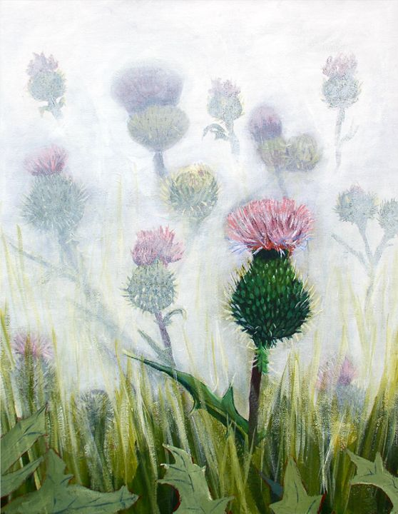 Scottish Thistles - Elaine Nardini-Harris
