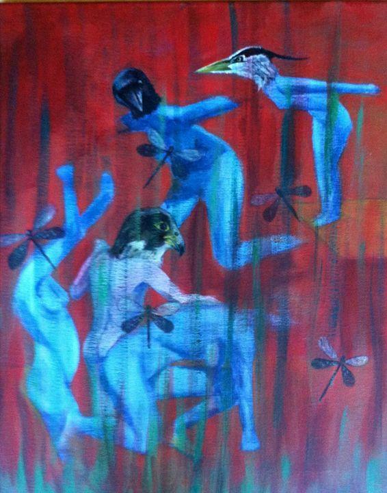 Bluebirds - Elaine Nardini-Harris